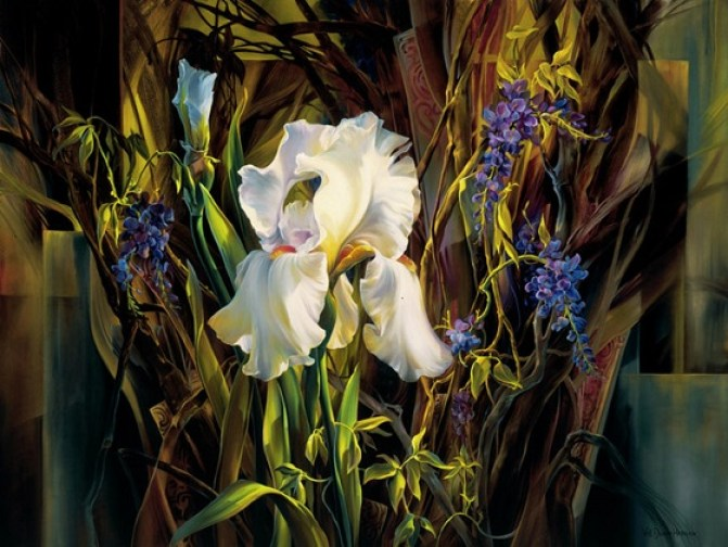 iris-oil-paintings