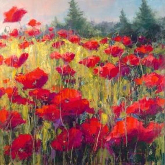 poppy-acrylic