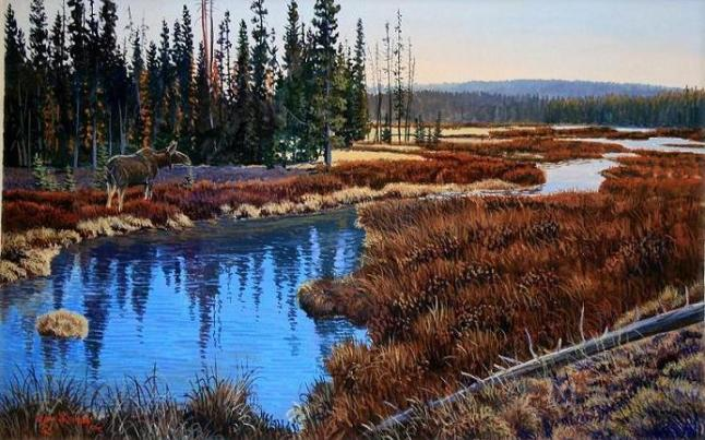 blue-river-painting