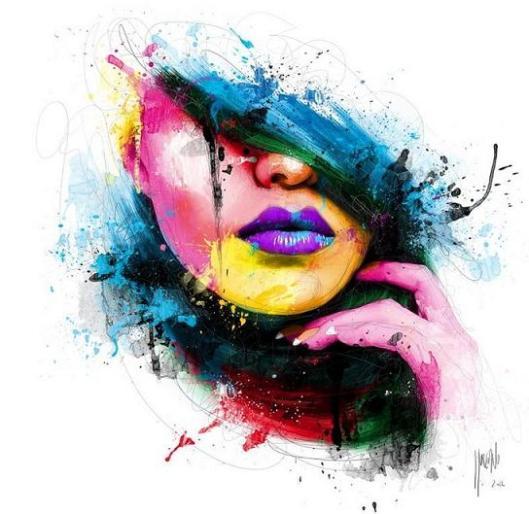 rainbow-portrait-painting