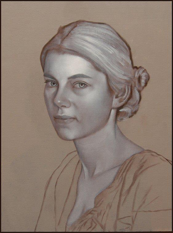 Step By Step Oil Portrait Painting Demo By Scott E Bartner