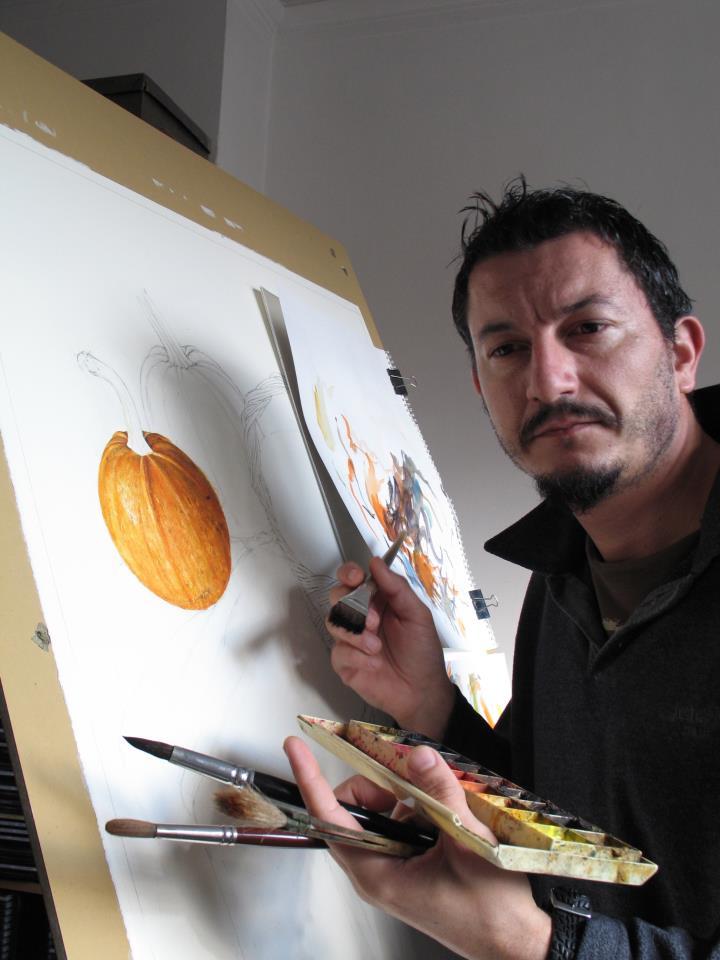Watercolor Paintings By Bulgarian Artist Atanas Matsoureff