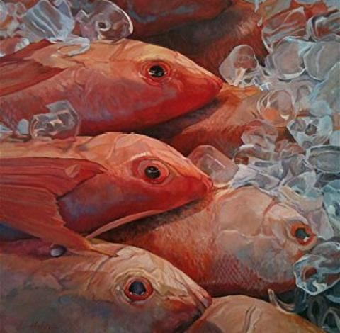 red-fish-paintings