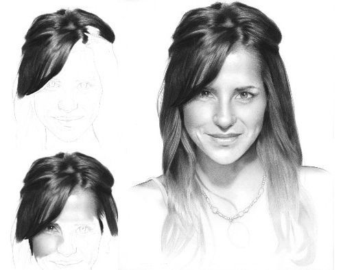 amazing pencil drawings of hair