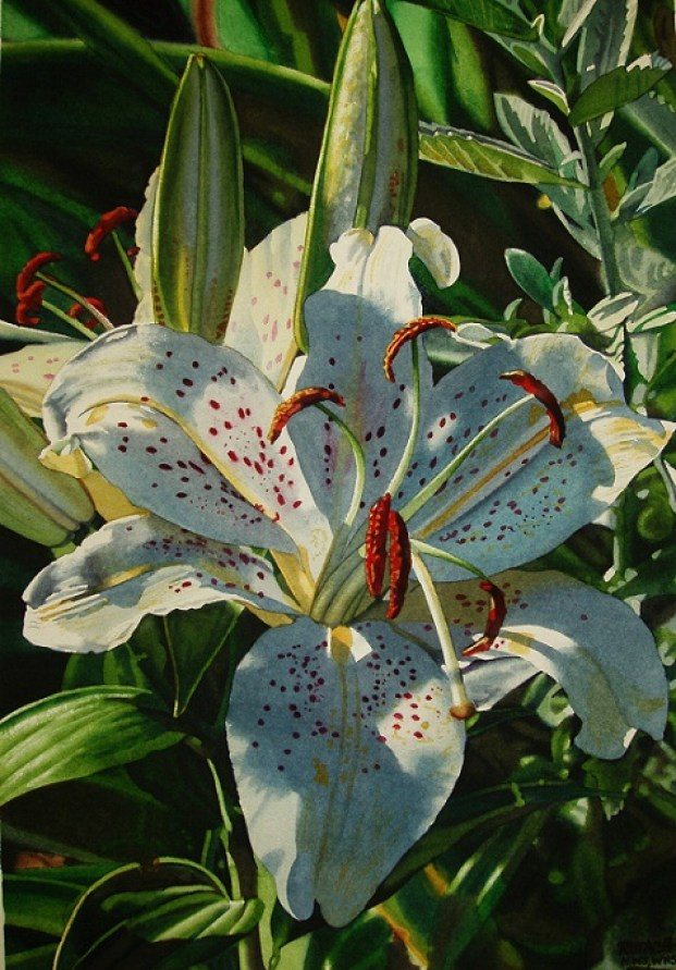 painting-lilly