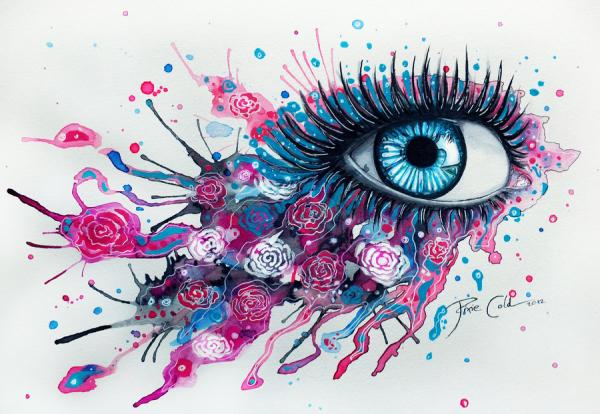painting-of-eyes