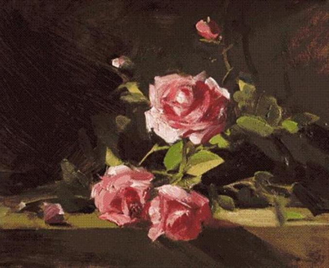 rose-oil-paintings