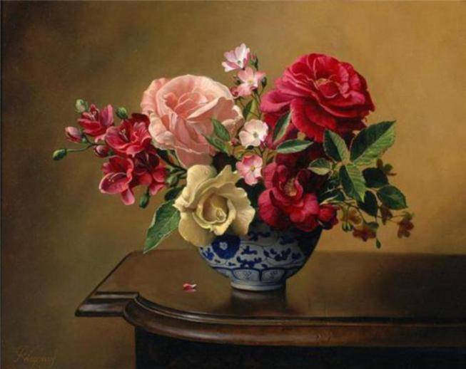 painting-rose