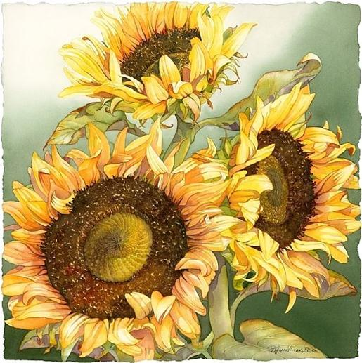 sunflower-paintings
