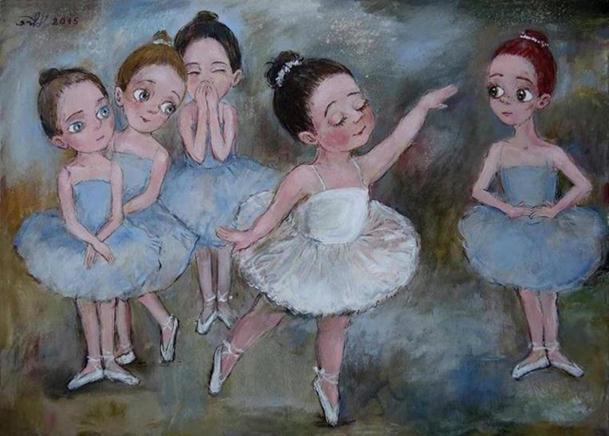 children-ballet-paintings