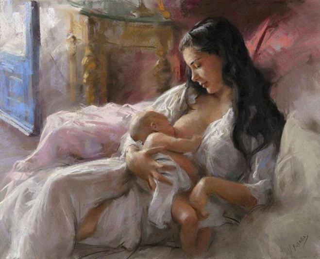 Famous Paintings Of Mother and Child