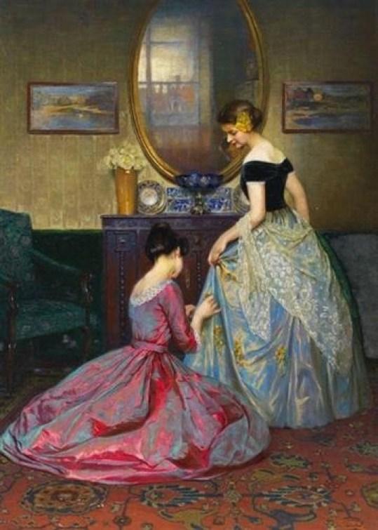 fashion-paintings