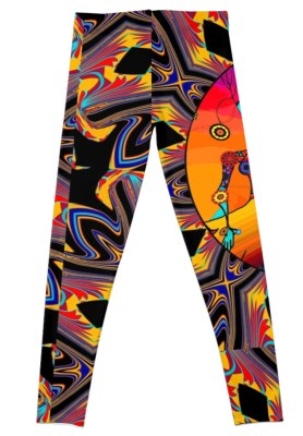 original art leggings for the modern human