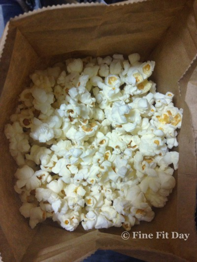 how to make clear butter popcorn