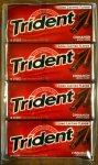 Random image: trident cinnamon gum