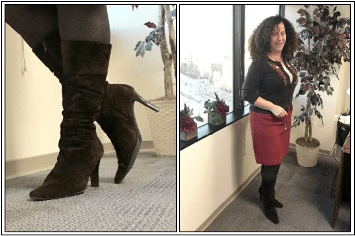 Day 15 - brown suede boots