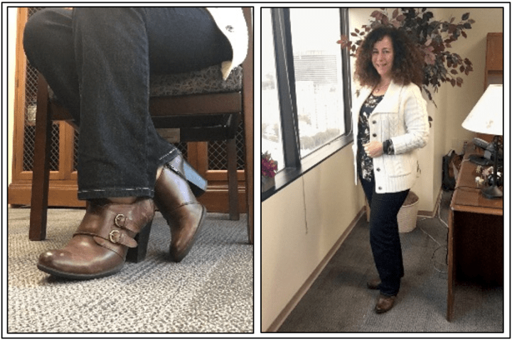 Day 28 - booties with jeans