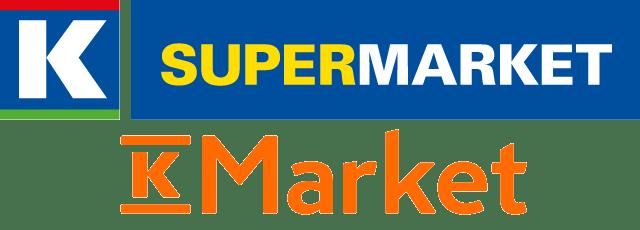 フィンランドのスーパーの中でも、割と中規模なK-SUPERMARKET(ケースーパーマーケット)とK-MARKET(ケーマーケット)