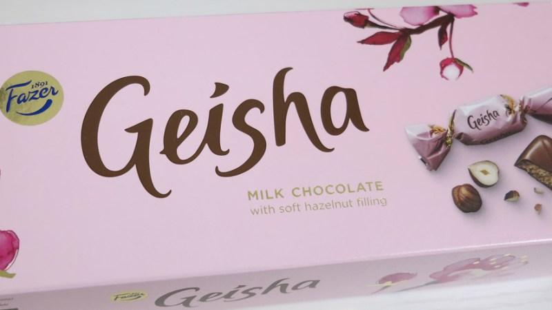 日本っぽい!?フィンランドのチョコレート、その名も「Geisha(ゲイシャ)」