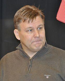 フィンランドの元ホッケープレーヤー・コーチのライモ・スンマネン氏