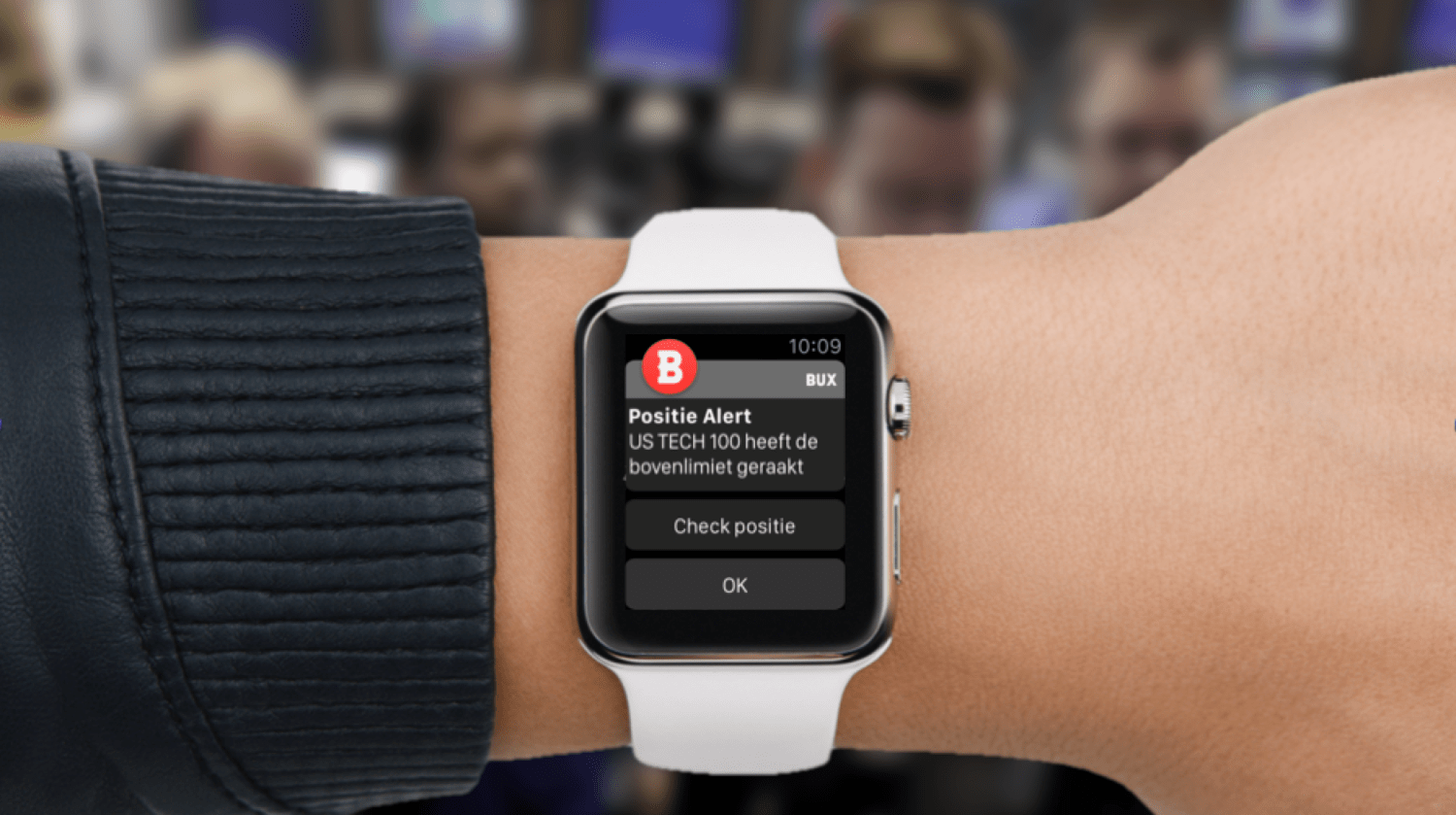 BUX beleggings app Apple Watch app finno pascal spelier