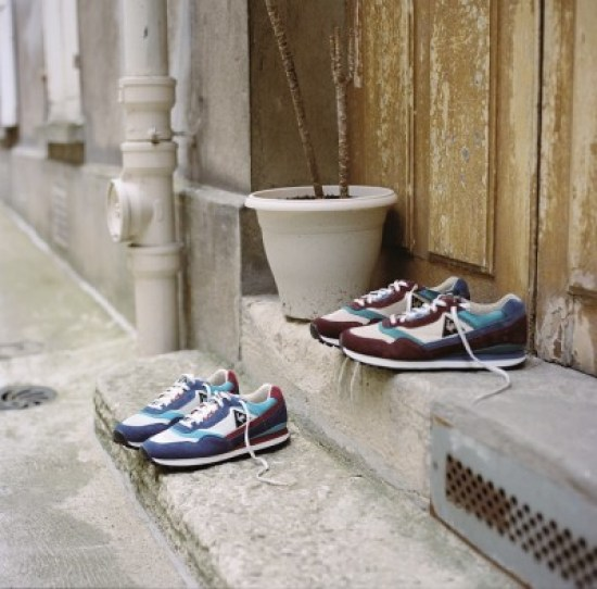 Les runnings French Trotters x Le coq sportif