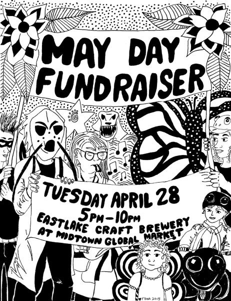 May Day Fundraiser Flyer, 2015.