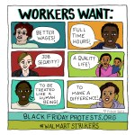 Workers Want! Commission for CultureStrike, 2014.