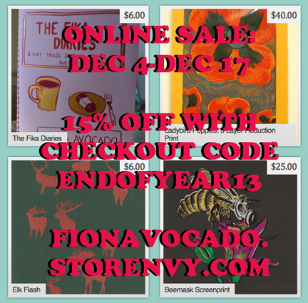 Online sale until Dec 17!!