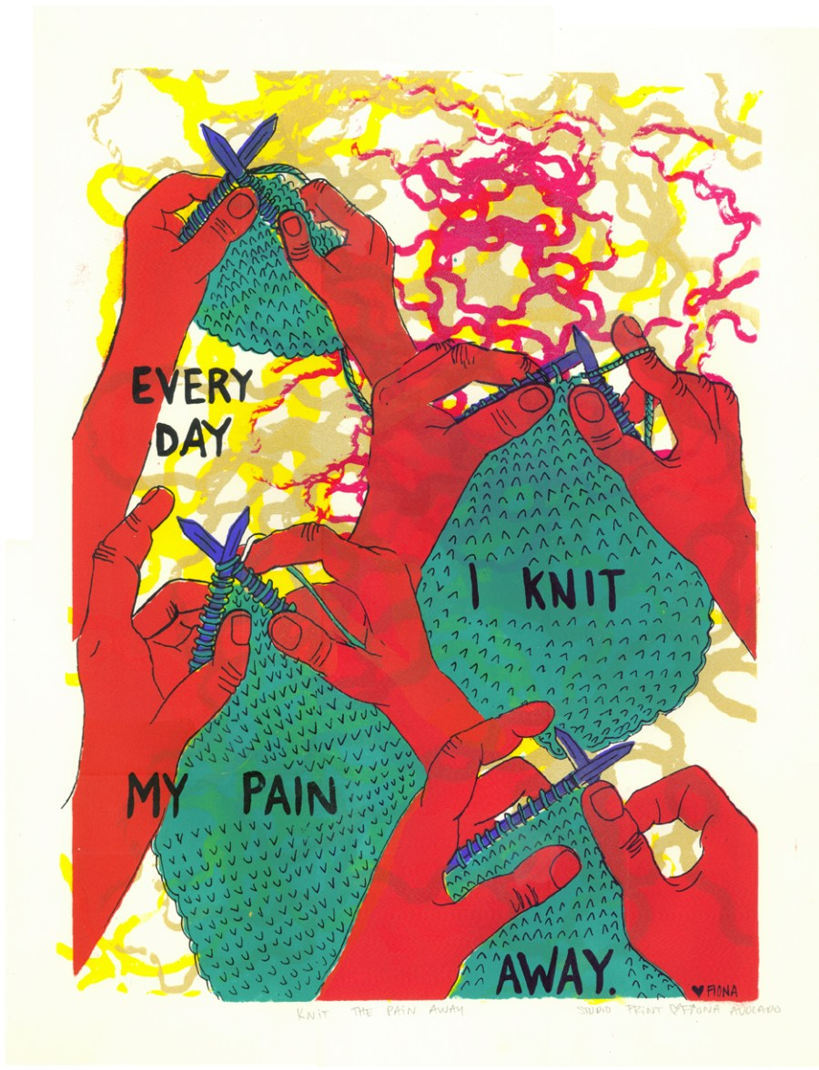 Knit My Pain Away