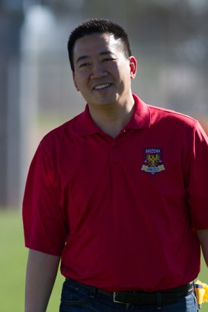 Arizona United owner Kyle Eng seen before a preseason game against FC Tucson Feb. 24, 2016 in Tucson, AZ. Photo credit: Michael Rincon/Michael Rincon Photography