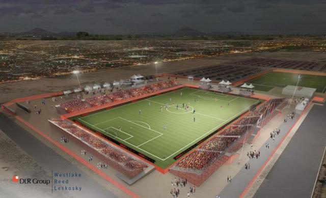 Phoenix Rising Soccer Complex courtesy of PHXRisingFC.com