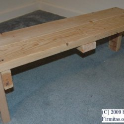 Wooden Weightlifting Bench Do It Yourself Project