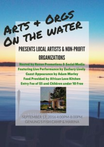 Arts + Orgs on the Water @ Genungs Fish Camp and Marina | St. Augustine | Florida | United States