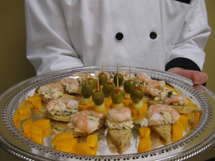 Clayton center for the arts grand opening knoxville for Canape garnishes