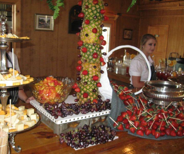 Fruits Fondue