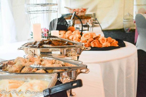 Heavy Hor d oeuvres Dinner Buffet