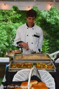 Knoxville Wedding Catering, The Bleak House, Dinner Buffet, Knoxville Catering