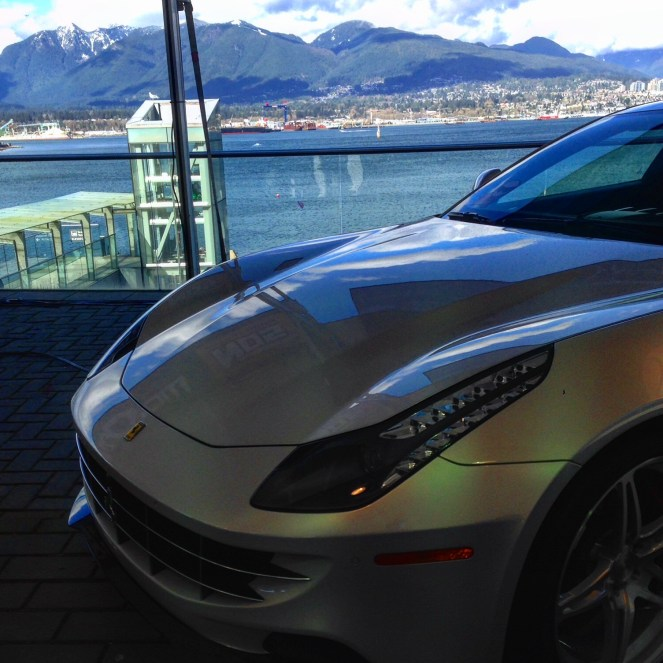 Ferrari FF at the Vancouver International Auto show 2016