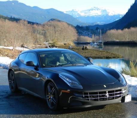 Ferrari FF in Squamish 2016.