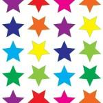 כוכבים צבעוני