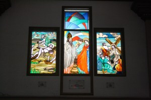 Stained glass images.