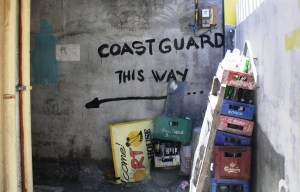 To the coast guard office.