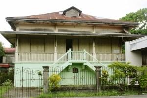 """Jose """"Apitong"""" Ledesma ancestral house."""