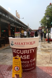 You can walk around Asiatique's four districts.