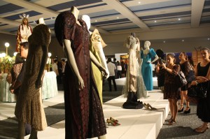 The exhibit included religious icons, furniture, paintings and Filipino gowns.