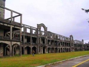Remnants of WWII in Corregidor Island.
