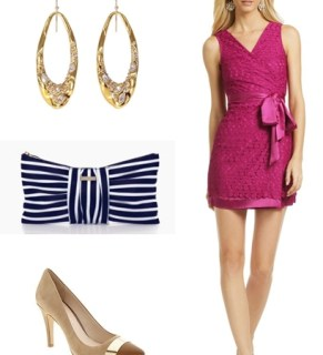 A Wedding Guest Dress (with a Baby!)