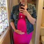 Pregnancy, Self Confidence, and a Hot Pink Dress