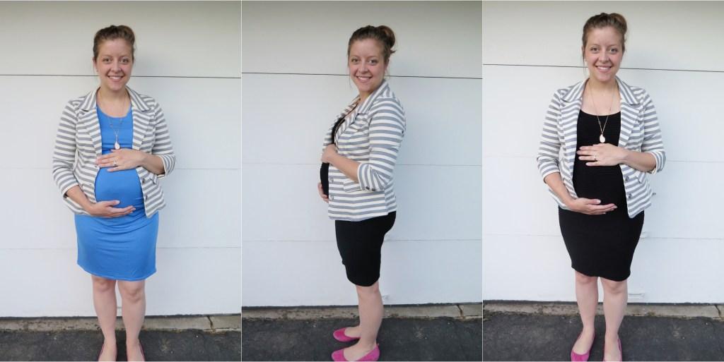 maternity stitch fix - striped blazer